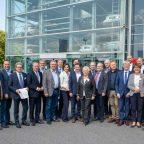 Hochkarätige Delegation aus Hannover im H2-Anwenderzentrum Herten